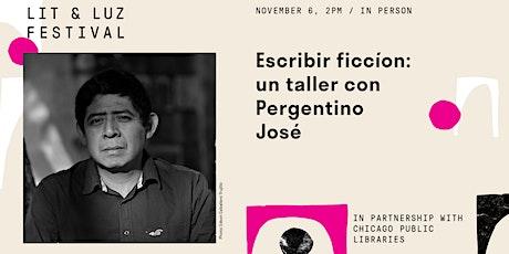 Un Taller de Ficción con Pergentino José tickets