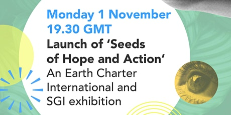 Launch of 'Seeds of Hope and Action' tickets