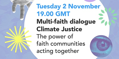 Climate Justice - the power of faith communities acting together billets
