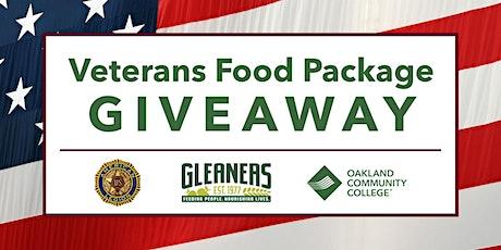 Veterans Food Package Giveaway tickets