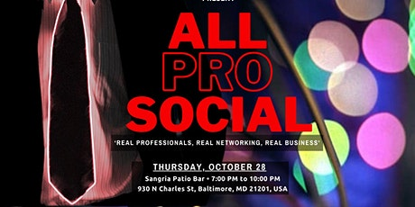 All Pro Social Networking Event tickets