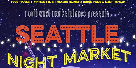 Seattle Night Market | New Moon | 21+ Only tickets