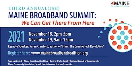 2021 Maine Broadband Summit tickets