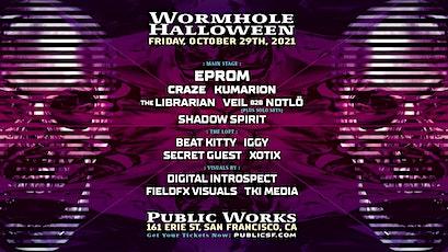 Wormhole Halloween tickets
