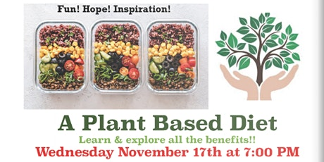 A Plant Based Diet | FREE Lecture + Q & A tickets