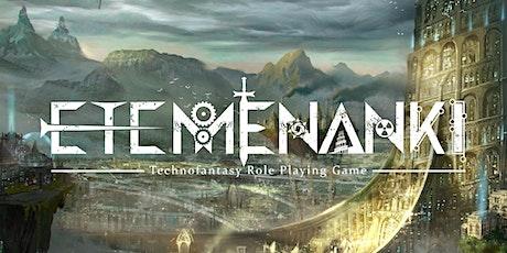 Etemenanki Technofantasy Role Playing Game - Gioco di Ruolo da Tavolo biglietti