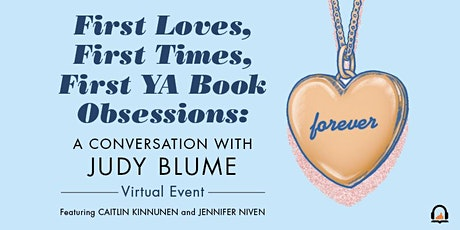 First Loves, First Times, First YA Book Obsessions: a convo with Judy Blume tickets