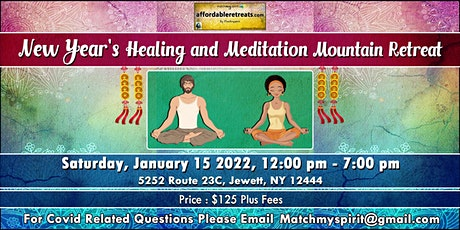 New Year's Healing and Meditation Mountain Retreat tickets
