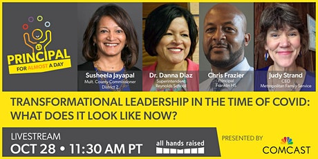 Principal for Almost a Day '21 - Watch Livestream Program Tickets