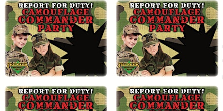 Parents Night Out - Camouflage Commando Party! tickets