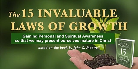 Personal and Spiritual Growth - Maturing in Christ tickets