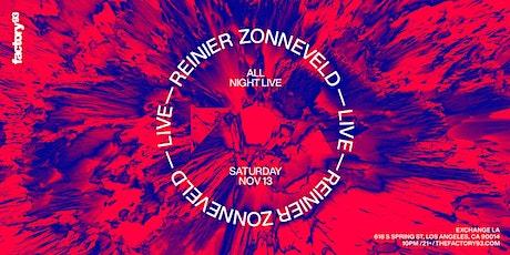 Reinier Zonneveld (ALL NIGHT LIVE) tickets