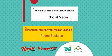 Thrive: Business Workshop Series - Social Media tickets