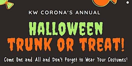 Keller Williams Corona's Halloween Trunk Or Treat  Event! tickets