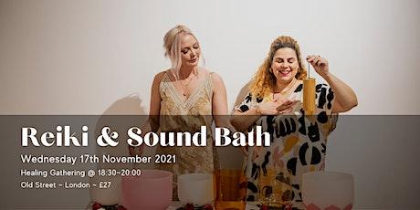 Reiki Healing & Sound Bath:  HandsOn Healing~Chakra Balancing~Sound Healing tickets