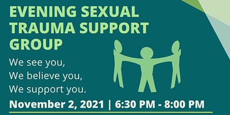 Online Evening Sexual Trauma Support Group tickets