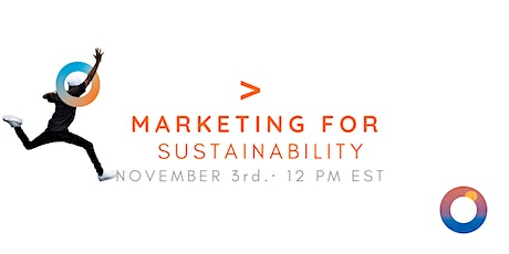 MARKETING FOR SUSTAINABILITY tickets
