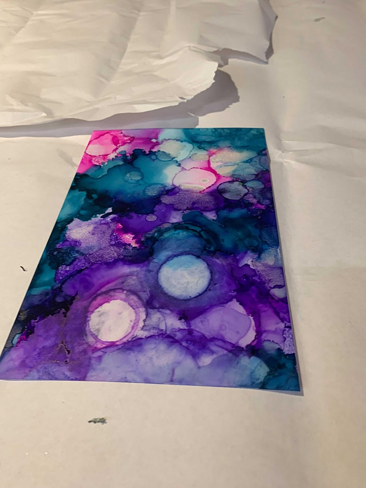 Paint N' Play with Alcohol Inks image