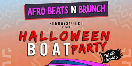 Afrobeats N Brunch: Halloween Boat Party (pirate themed!) tickets