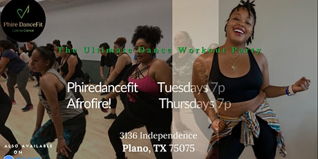 Hip Hop Fitness in Plano. It's fire! Fun workout! Sweat. Burn Calories tickets