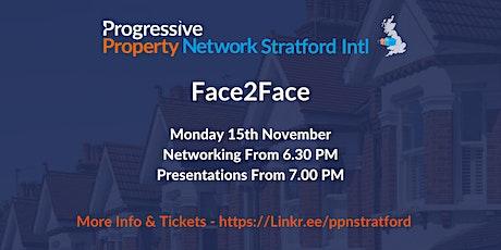 Progressive Property Network Stratford Intl tickets