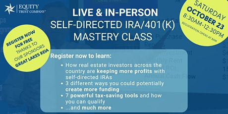 Equity Trust  Self-Directed IRA/401(k) Mastery Class tickets