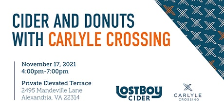 Cider and Donuts with Carlyle Crossing tickets