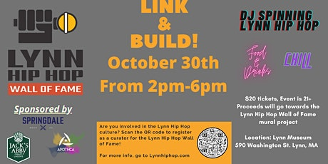 Lynn Hip Hop Wall of Fame Presents: Link & Build tickets