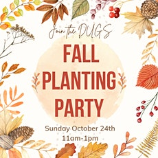 Fall Planting Party tickets