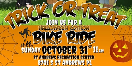 Trick or Treat Bike Ride tickets