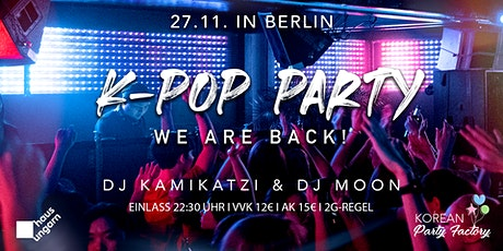 K-Pop Party Berlin - We are back! Tickets
