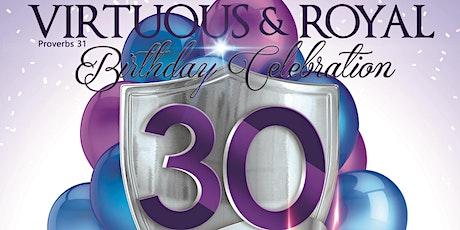 Virtuous & Royal - Birthday Celebration tickets