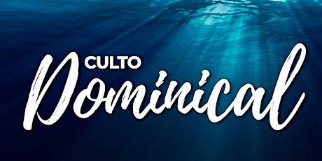 2° Servicio Dominical - Domingo 31 de Octubre entradas