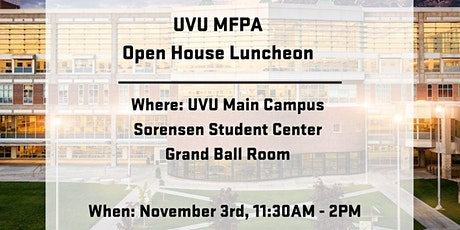 MFPA Open House Luncheon- An Investment Outlook with Cary Wasden tickets
