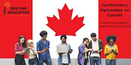 Diplomados y Certificados en Canadá, conoce sus beneficios entradas