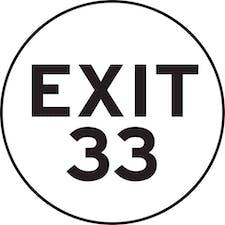 Exit 33 logo