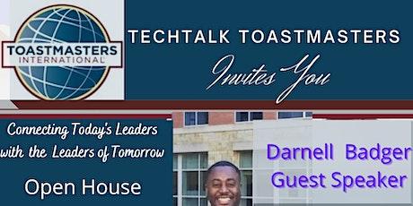 Techtalk Toastmasters Veteran's Day Open House ingressos