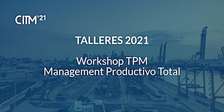 Workshop TPM - Management Productivo Total entradas