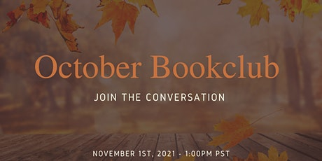 October Bookclub tickets