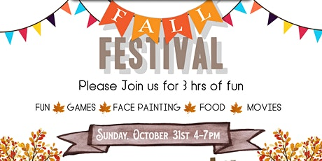 Children's Ministry Fall Festival tickets