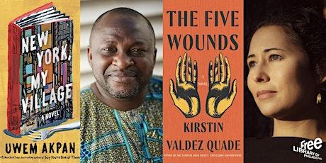 ONLINE-Uwem Akpan: New York, My Village w/Kirstin Valdez Quade: Five Wounds tickets