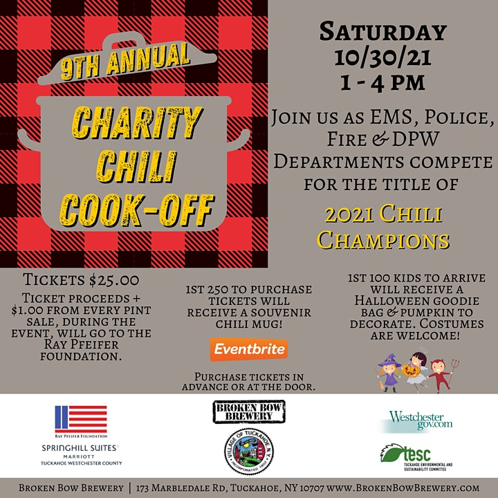 9th Annual Charity Chili Cook-Off! image