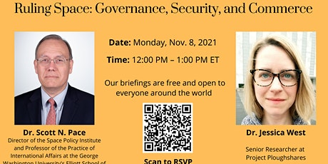 Ruling Space: Governance, Security, and Commerce tickets