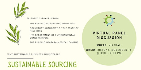 Sustainable Sourcing Panel tickets