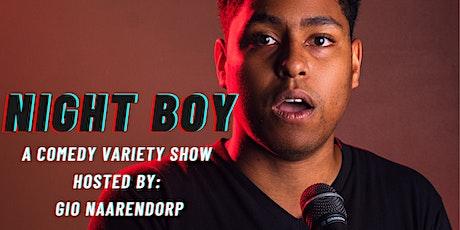Night Boy: A Comedy Variety Show tickets