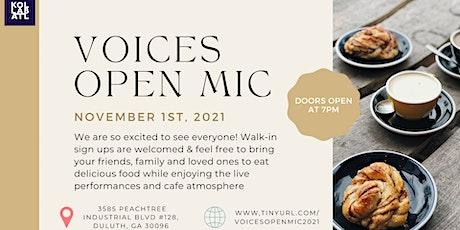 Open Mic Atlanta - November 1st tickets