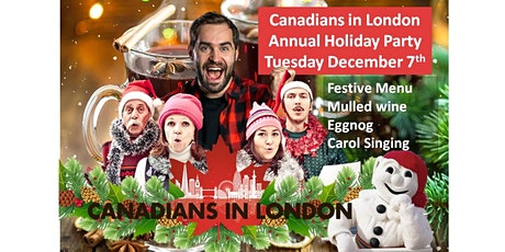 Canadians in London Holiday Party tickets