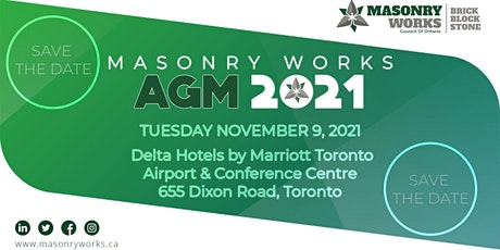 Masonry Works Annual General Meeting tickets