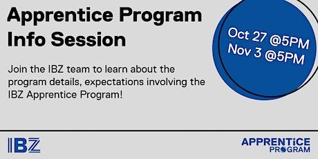 The Apprentice Program - Info Session tickets