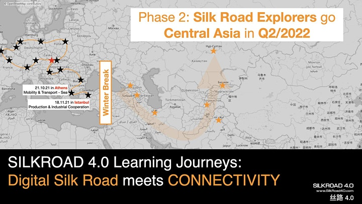 Digital Silk Road meets Mobility & Transportation: Sea image